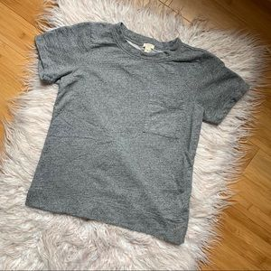 J. Crew Cotton Pocket Tee